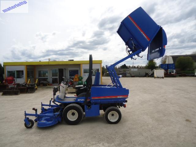 tondeuse tracteur tondeuse iseki sf310fh avec bac 900 l et version route haute normandie eure. Black Bedroom Furniture Sets. Home Design Ideas